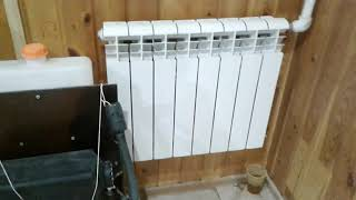отопление в гараже. автономка