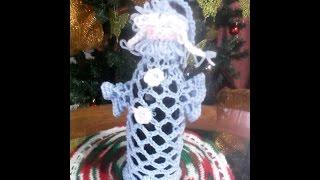 Дед мороз и Снегурочка,вязание крючком.Часть 2.