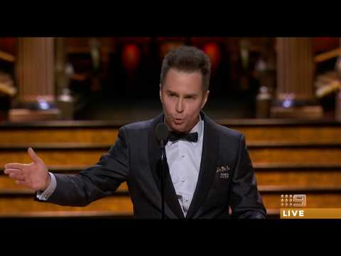 Sam Rockwell wins the Oscar for Supporting Actor 2018 [HD]