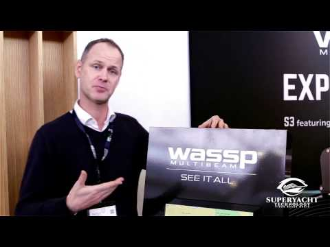 Wireless WASSP Forward Mapping Sonar for Mega Yachts at METS 2016