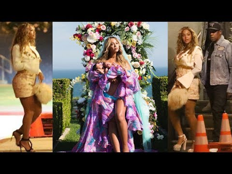 Download Youtube: Beyonce Spotted for the First Time After Giving Birth to Twins Rumi & Sir Carter | Her Viral IG Post
