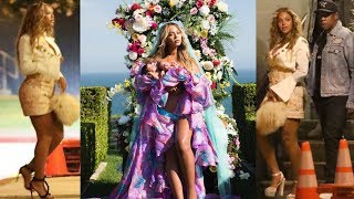 Beyonce Spotted for the First Time After Giving Birth to Twins Rumi & Sir Carter | Her Viral IG Post