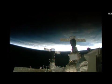 NASA Live👽-International Space Station-7:32 pm 21/10/2017 Melbourne Australian time
