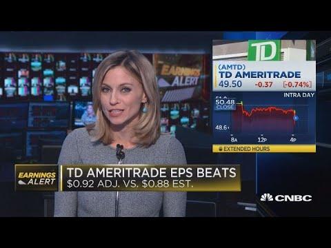 TD Ameritrade beats earnings expectations