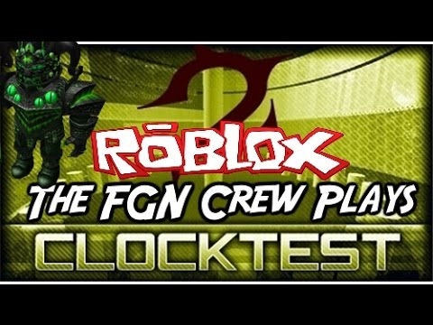 Family Game Nights Plays: Roblox - Clock Test 2 (PC)