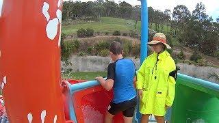 Billabong Red Water Slide at Jamberoo Action Park
