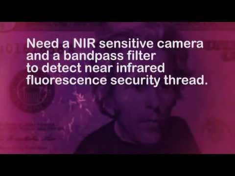 iPod Touch Near Infrared Fluorescence Counterfeit Deterrence in Banknotes