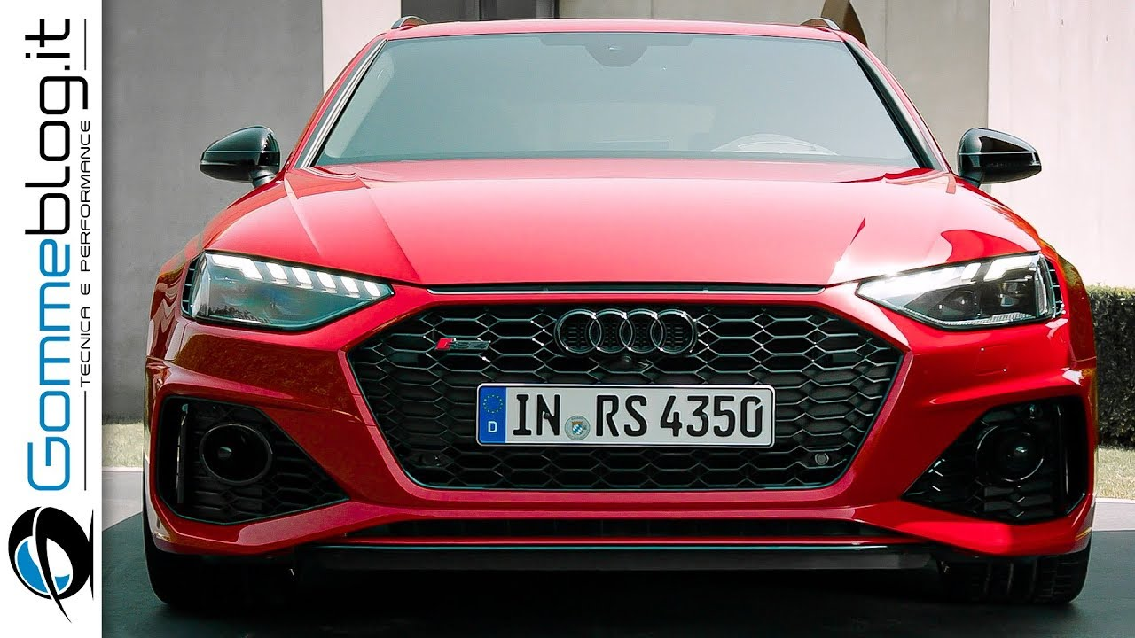 2020 Audi Rs4 Interior Exterior And Drive Excellent