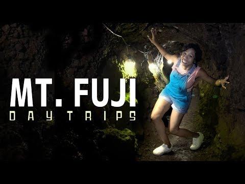 Hiking the Mt. Fuji Lava Caves!  [Tokyo→Yamanashi Daytrips]