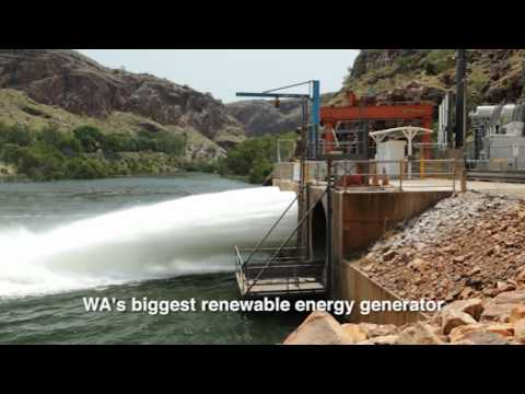 Award-winning Ord River Hydro in Western Australia