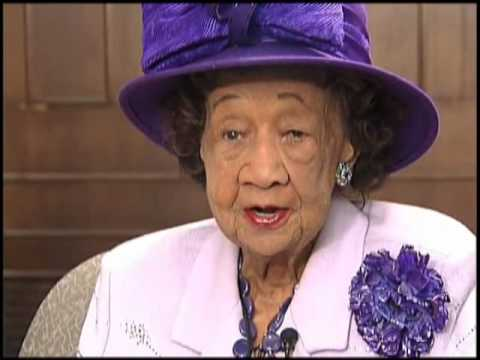 Armstrong Williams interviews Dr. Dorothy Height!