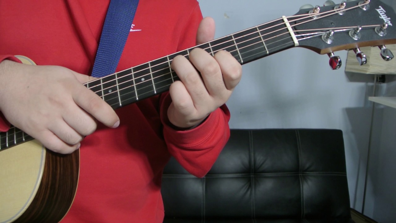 How To Play An G Add 9 Chord Guitar Tutorial Youtube