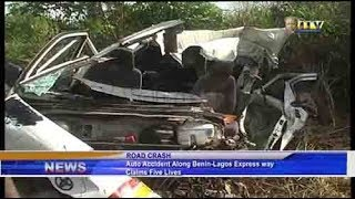 Auto accident along Benin-Lagos Express Way claims five lives