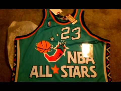 05fa409706e Michael Jordan 96  asg Mitchell and Ness - YouTube