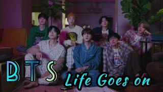 Download BTS ~ Life goes on | Easy Lyrics dan terjemahannya |🔥🔥