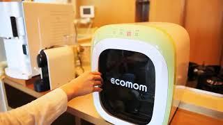Máy tiệt trùng và sấy khô bằng tia UV ECOMOM