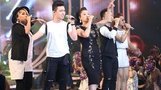 Vietnam Idol 2015 - Chung Kết & Trao Giải - Cứ thế mà đi - Thu Minh ft Idols