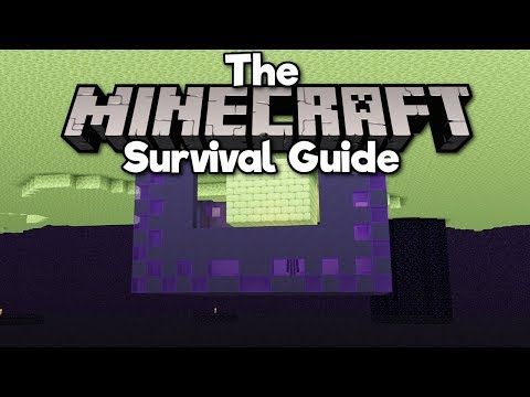 Building a Base Below The End! ▫ The Minecraft Survival Guide (Tutorial Let's Play) [Part 259] thumbnail