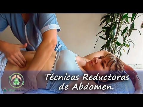 Masaje reductor de abdomen | Massage to reduce belly fat