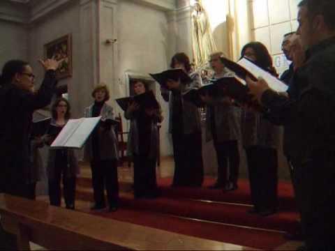 AVE MARIA - ALONSO DE ALBA - Coro Vox nova