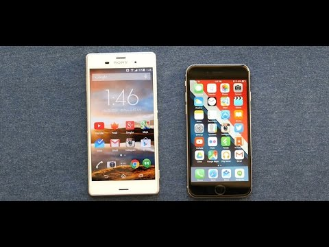 Сравнение Sony Xperia Z3 vs iPhone 6