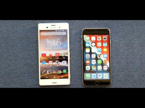 Сравнение Sony Xperia Z3 vs iPhone 6