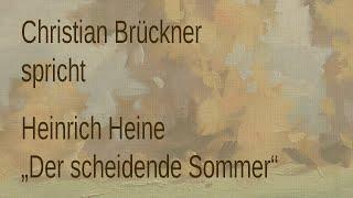 """Heinrich Heine – """"Der scheidende Sommer"""" (1834)"""