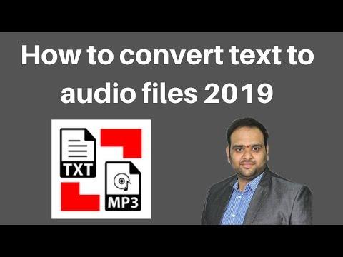 How to convert text to audio files 2019 | Digital Marketing Tutorials thumbnail