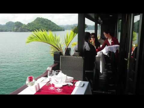 Bhaya Cruises: Luxury cruises in Halong Bay, Vietnam - HD