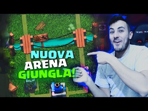 LA NUOVA ARENA GIUNGLA?! [EDIT] JUNGLE ARENA by DragonSteak | Clash Royale