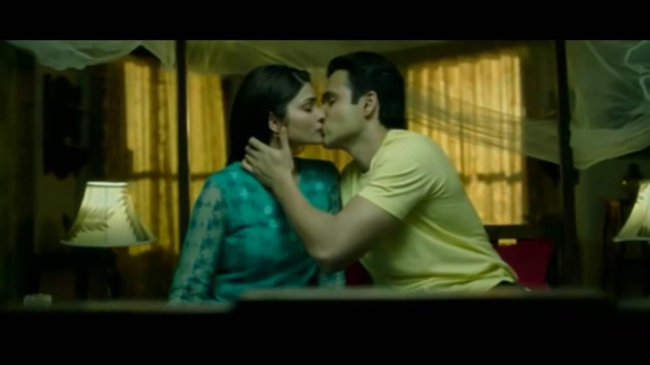 Nargis Farkhri Emraan Hashmis Hot Kissing Scene In Azhar  With Prachi Desai Nagris Fakhri