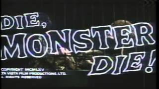 Die, Monster, Die Trailer 1965