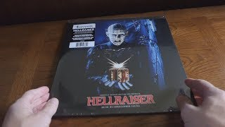 Unboxing HELLRAISER - 30th Anniversary Remixed and Remastered Vinyl Record Soundtrack LP