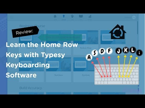 Typesy Review: Learn How to Type The Home Row Keys With Typesy Software (2021)