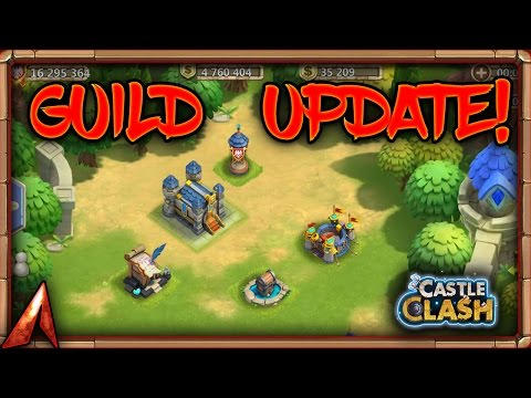 Castle Clash Going Over The Guild Update New Features!