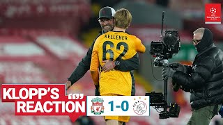 Klopp's Reaction: 'One of the most exceptional Champions League nights' | Liverpool vs Ajax