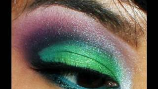 Glitter Green Sugarpill! makeup tutorial Thumbnail