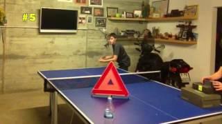 top 10 best table tennis trick shots 20152016