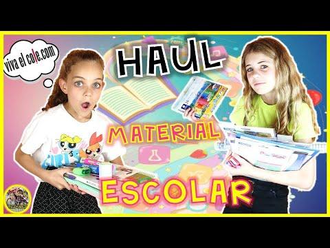 🤓¡¡VUELTA AL COLE!! 🎒 HAUL material escolar 2019 📚📐  VIVA el COLE