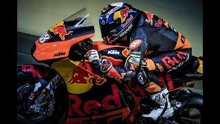 MotoGP Bike fährt durch Tunnel - KTM RC16 GP Sound
