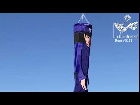 """40"""" Police Officer Breeze Buddy Windsock - In the Breeze Thumbnail"""
