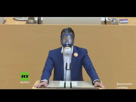 FFP3-Maske vs. Faschingsmaske - Stefan Löw AfD 08.07.2020 - Bananenrepublik