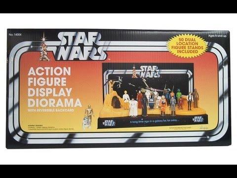 Star Wars Action Figure Display Diorama Pride Displays HD Review Simple Star Wars Action Figure Display Stand