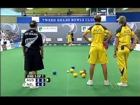 Womens World Team Cup 2007 Aust Vs NZ