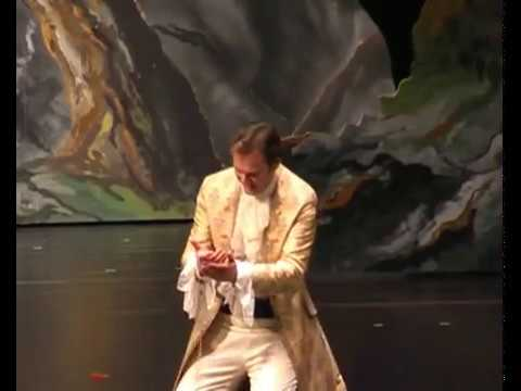 Michael Heim singt Tamino (Zauberflöte)