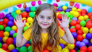 Color balls with Ulya and friends