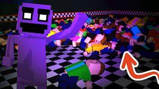 COMO ATRAPAR a +170 niños en UN SÓLO DÍA - Five Nights at Freddy's Killer In Purple 2 (FNAF Game)