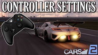 Project Cars 2 | GREAT CONTROLLER SETTINGS TUTORIAL