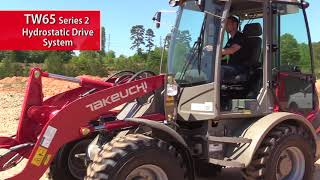 Video still for Takeuchi TW65 2 Hydrostatic Drive Feature