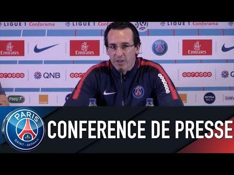 Paris Saint-Germain PRESS CONFERENCE BORDEAUX - PARIS SAINT-GERMAIN